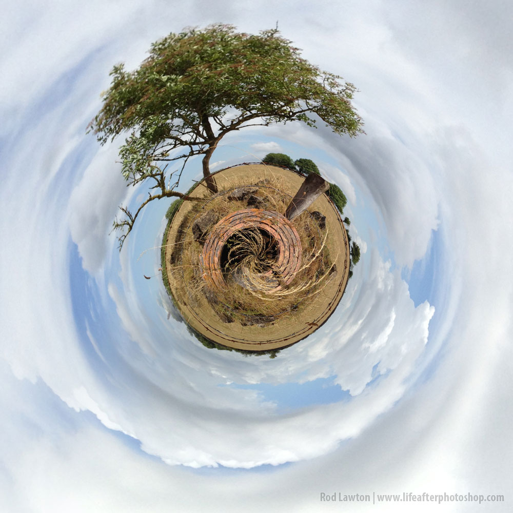 Polar panoramas… on an iPhone?
