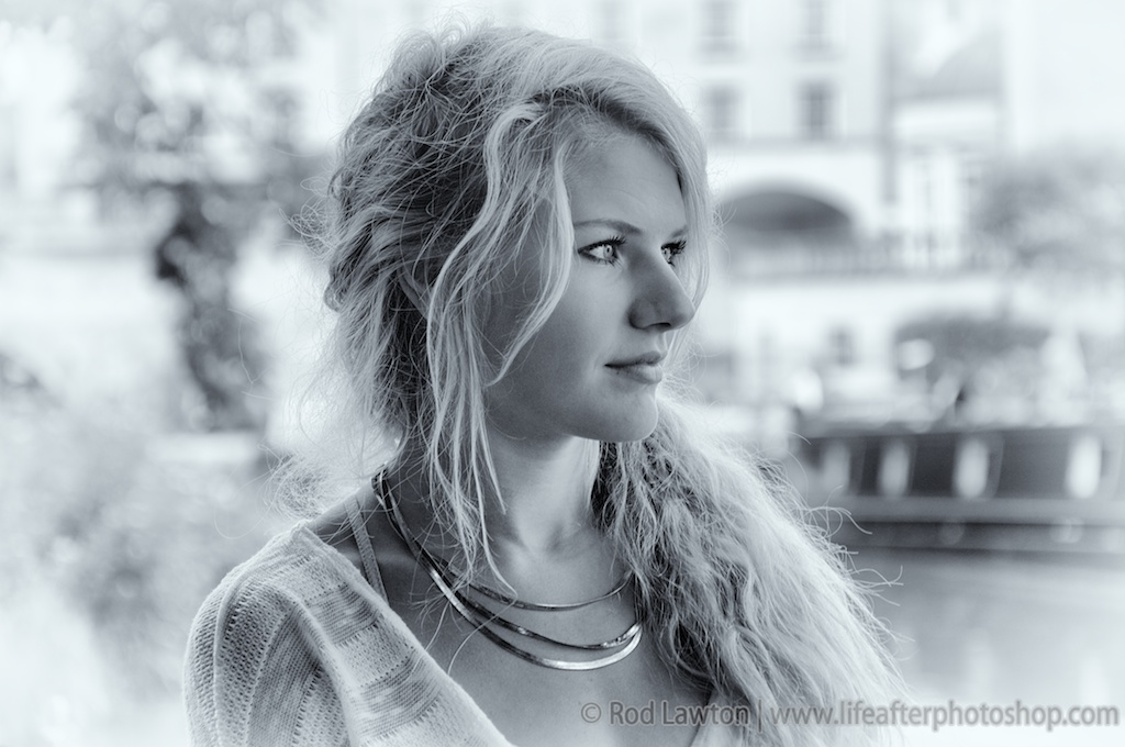 Try out this Silver Efex Pro tutorial for subtle black and white portrait effects