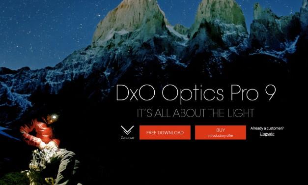 DxO Optics Pro 9 announced