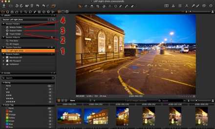 How do Capture One sessions work?