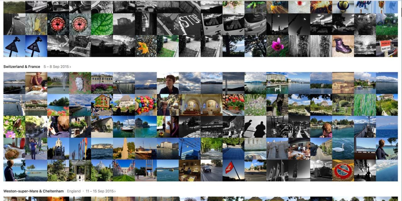 How to make sense of the Apple Photos interface