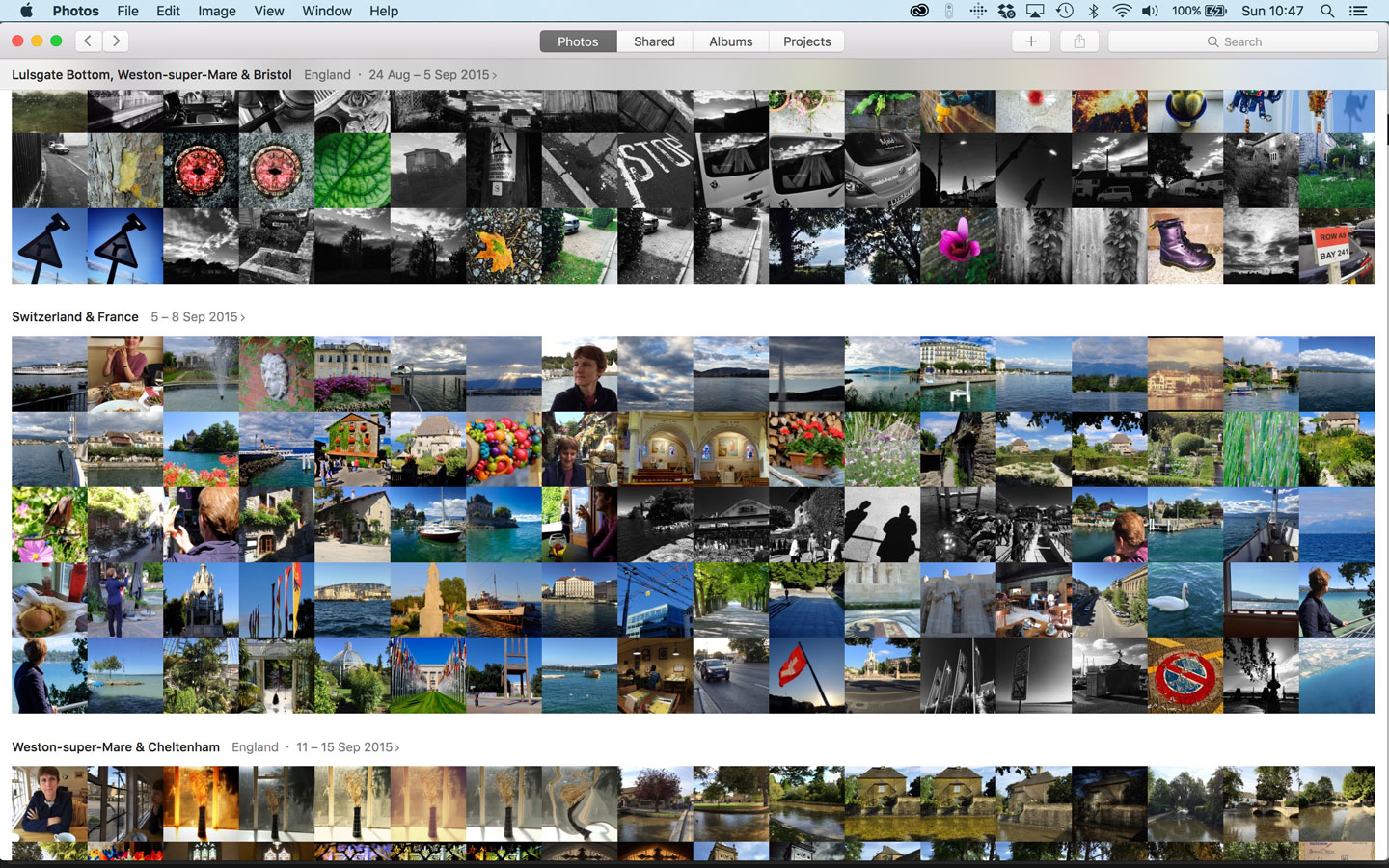 How to make sense of the Apple Photos interface