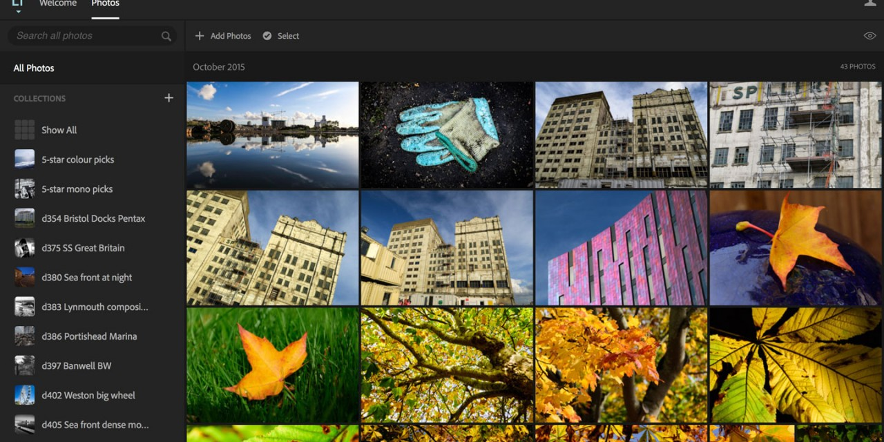 How to use Lightroom online