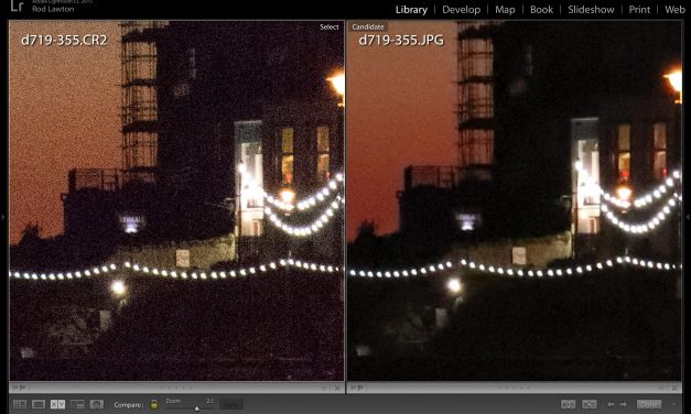 Lightroom noise reduction and why you need it