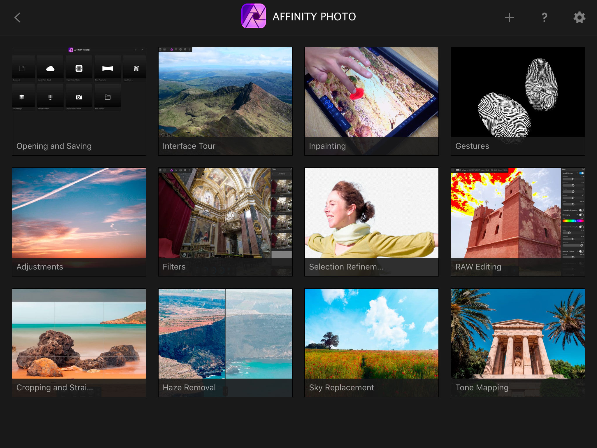 Affinity Photo for iPad review