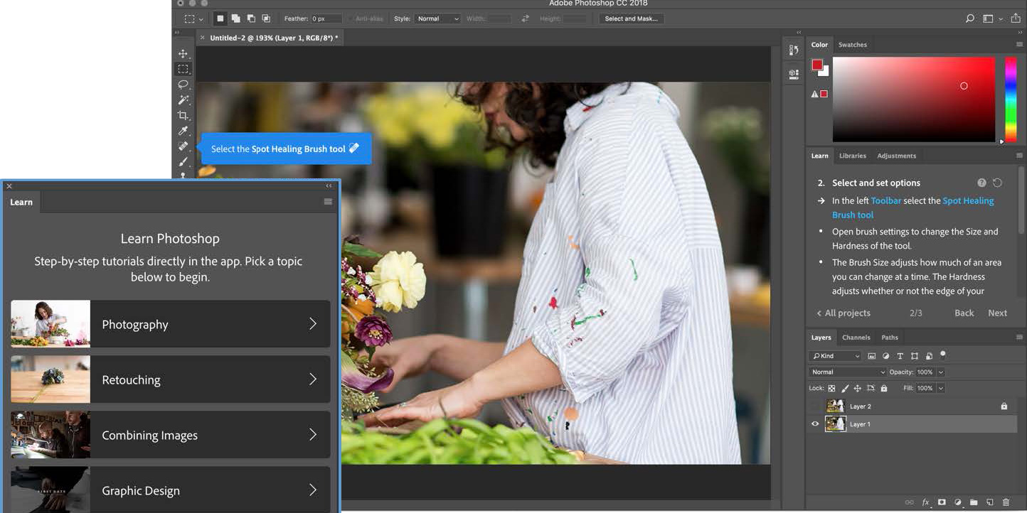 Adobe announces Photoshop CC update
